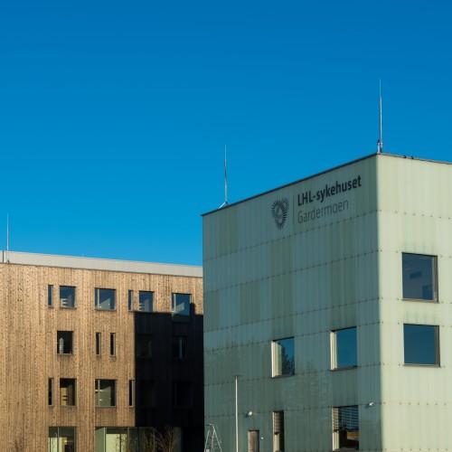 LHL-sykehuset Gardermoen. Foto av Finn Ståle Felberg.