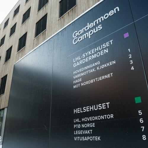 Gardermoen Campus. Foto av Finn Ståle Felberg.