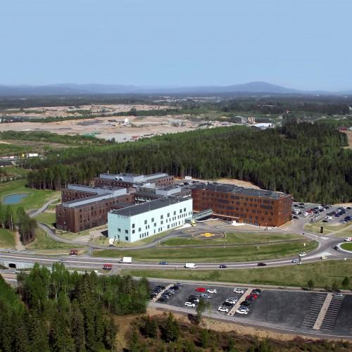 Gardermoen Campus mai 2018. Foto: Terje Løchen.
